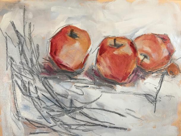 Three Red Apples, SL 26