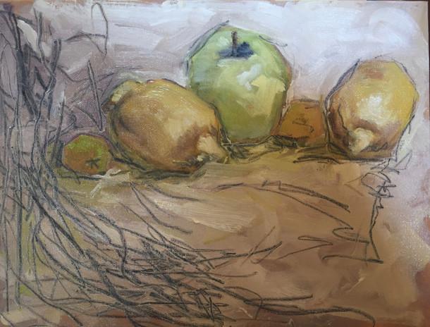 Green Apple and 2 Lemons, SL 27
