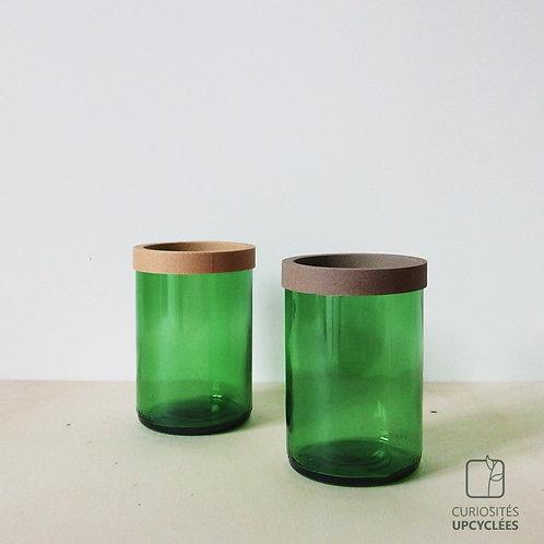 POT bouteille recyclée vert