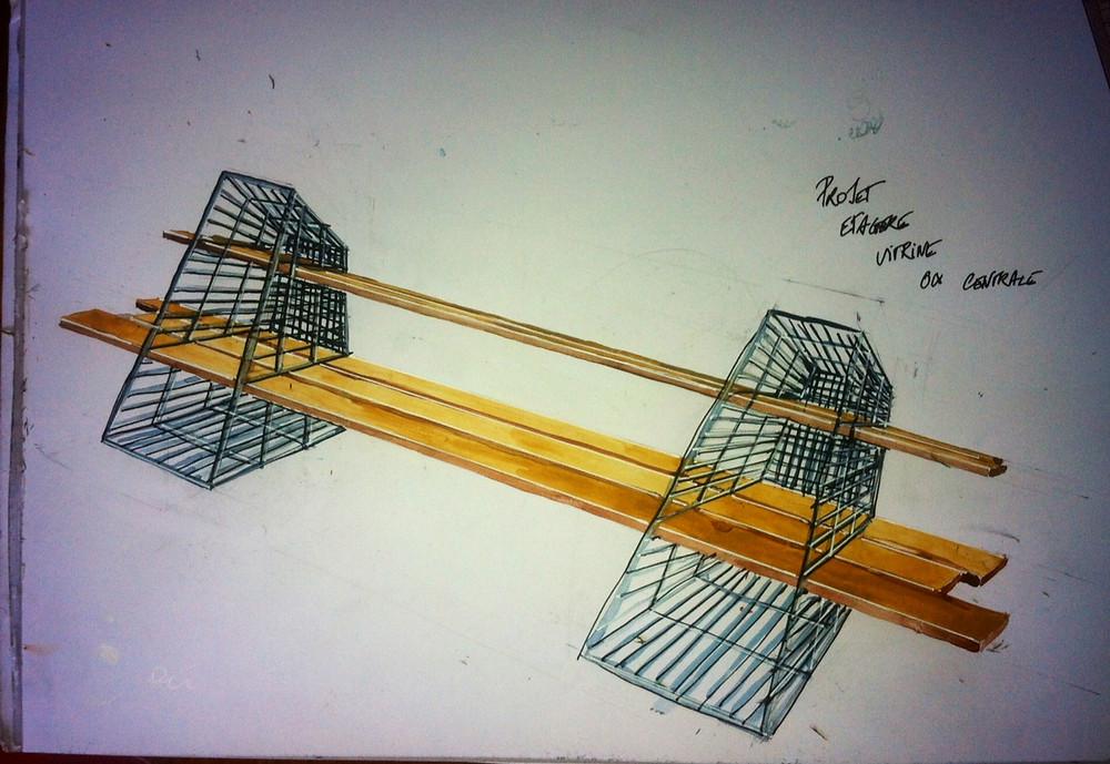 "Création module vitrine ""Editions Limitées #S2"" / Elisa Johnston"