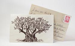 carte postale-bois-serigraphie-l'ilot-sa