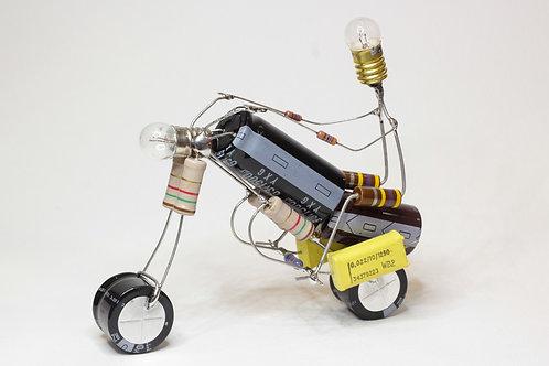 LA MOTO - Sculpture électronique