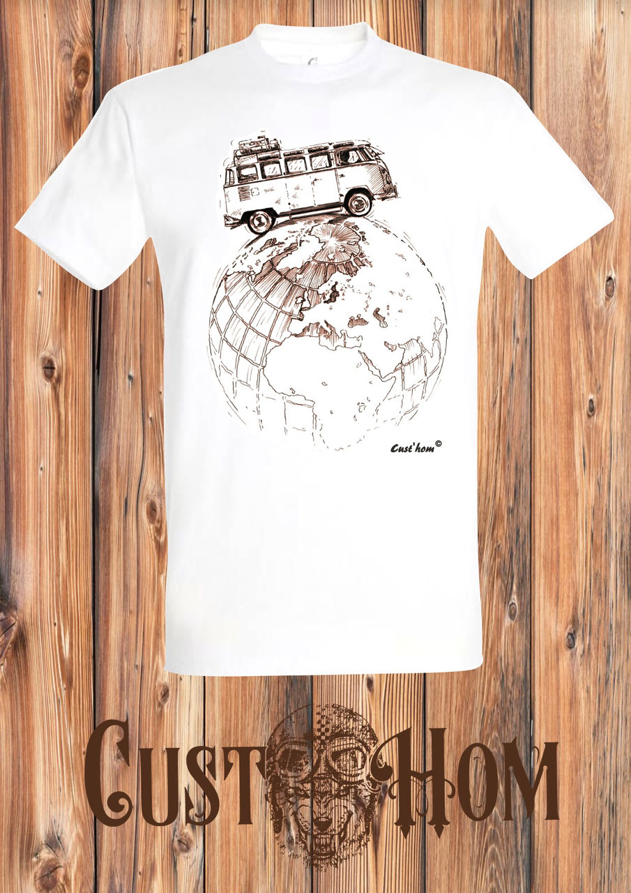 cust'hom t-shirt