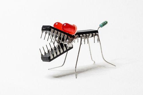 LE PETIT CHIEN - Sculpture électronique