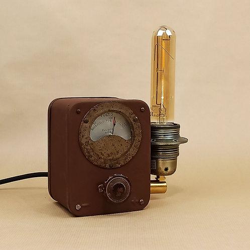 Lampe à poser - Voltmètre