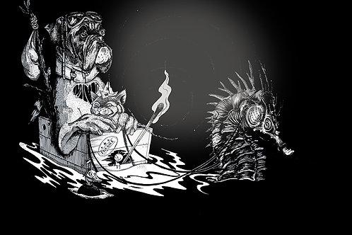 Les fugitifs - illustration en tirageslimités