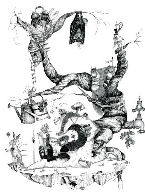 Illustration en tirages très limités