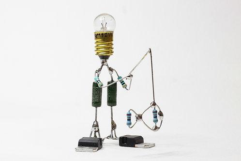 Pêcheur - Sculpture électronique