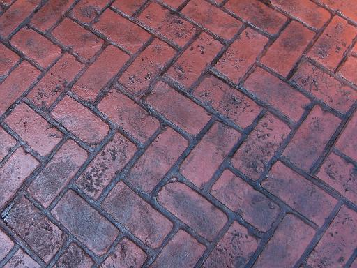 Stamped Brick