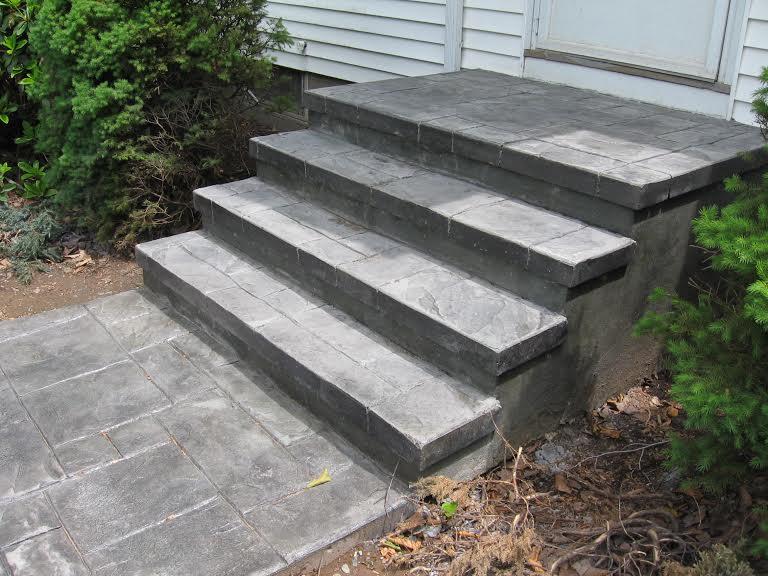 Stamped Steps