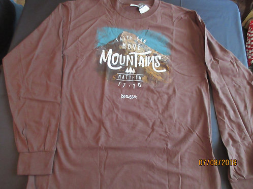 """Adult Long Sleeve - """"Mountains"""" -"""