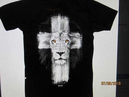 "Adult short Sleeve - ""Lion Cross"" -"