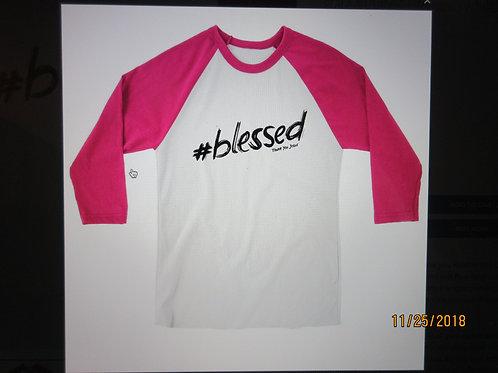 grace & truth® - Women's Adult Raglan T-Shirt - Hashtag