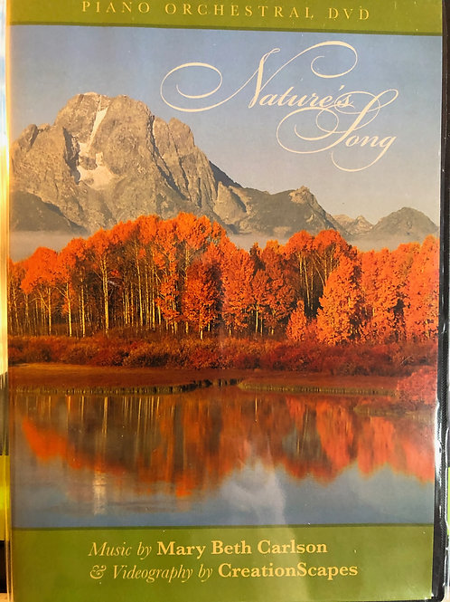 Natures Song DVD with Music