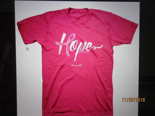 "Kerusso® Adult T-Shirt - Hope Ribbon ""Cherished Girl"""