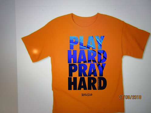Adult T PLAY HARD PRAY HARD