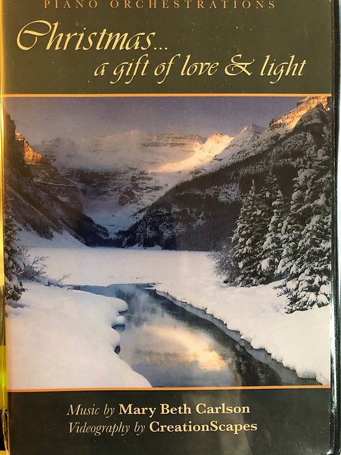 Christmas A Gift of Love & Light DVD with Music