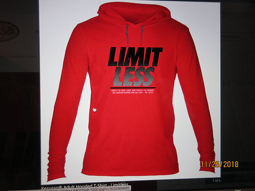 Kerusso® Adult Hooded T-Shirt Long sleeve- Limitless