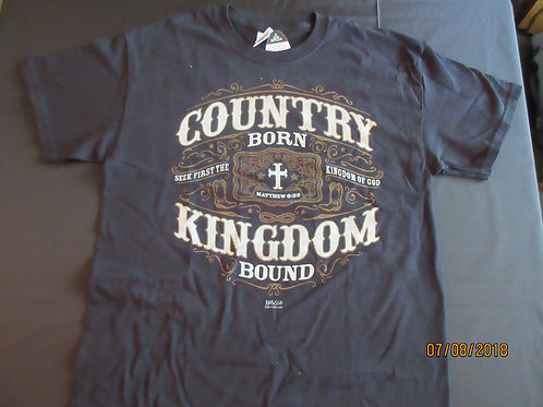 COUNTRY BORN T-Shirt Adult