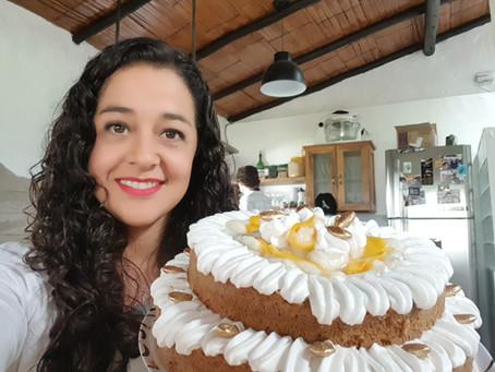Pastel vegano: ¡show en vivo!