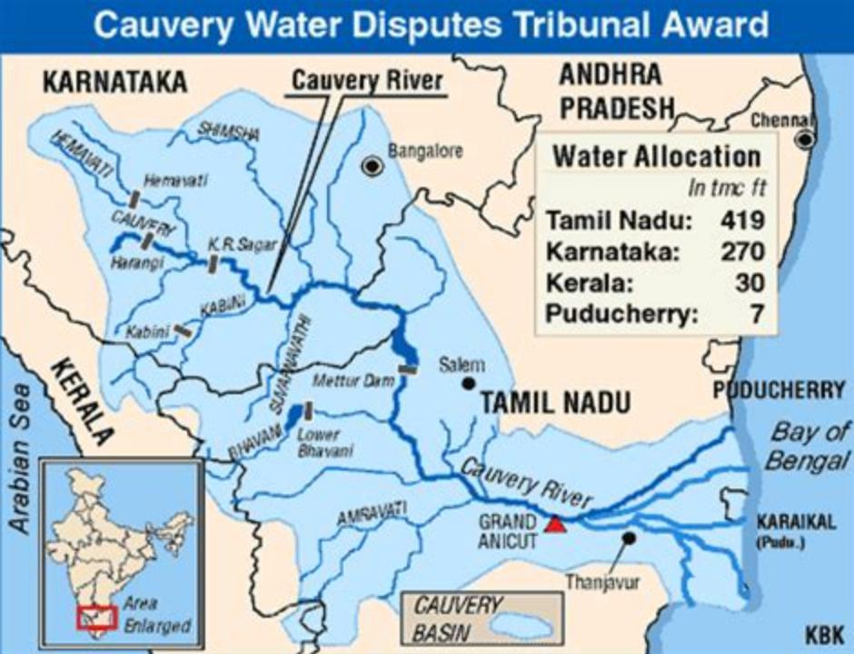Kaveri water dispute (2)