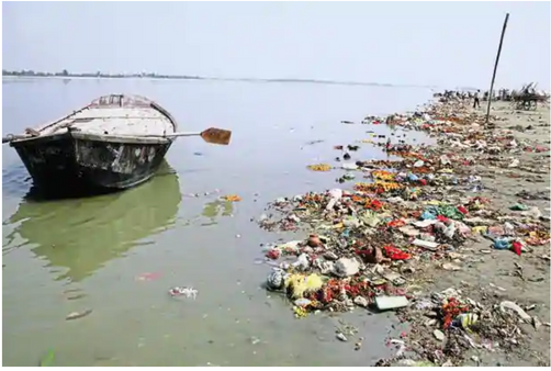 Pollution in the Ganges (2)