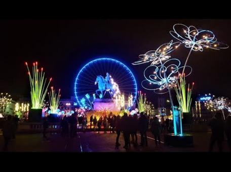 Fête des Lumières, Lyon (France)