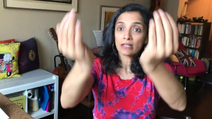 """PATAAKAM (""""flag""""): A very versatile gesture!"""