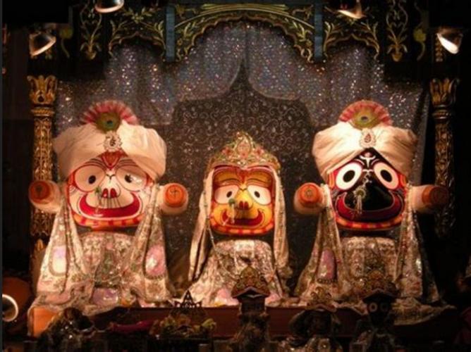 Jagannath Puri Temple Idols