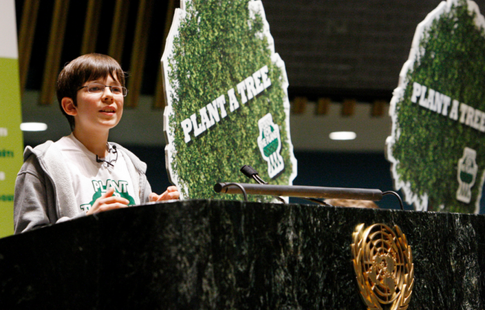 International forest protection Groups: Plant for the Planet