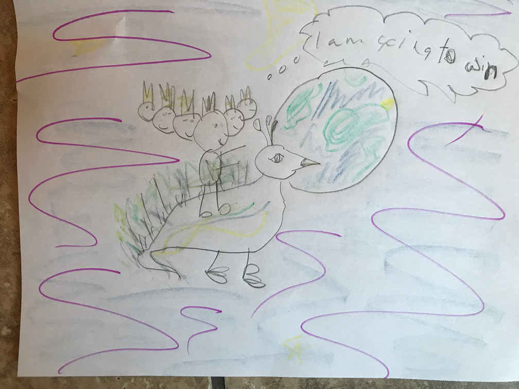 Kathryn S. (aged 5) from London, UK