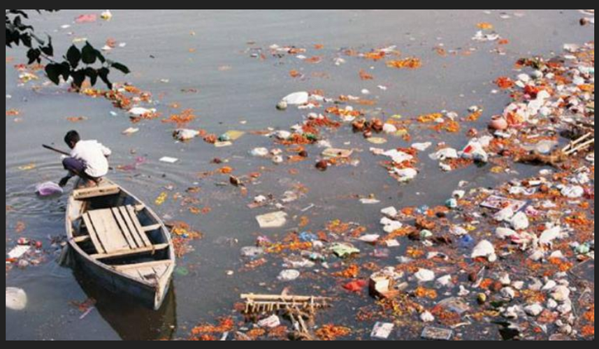 Pollution in the Ganges (1)