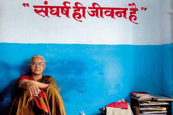 Medha Patkar, movement leader