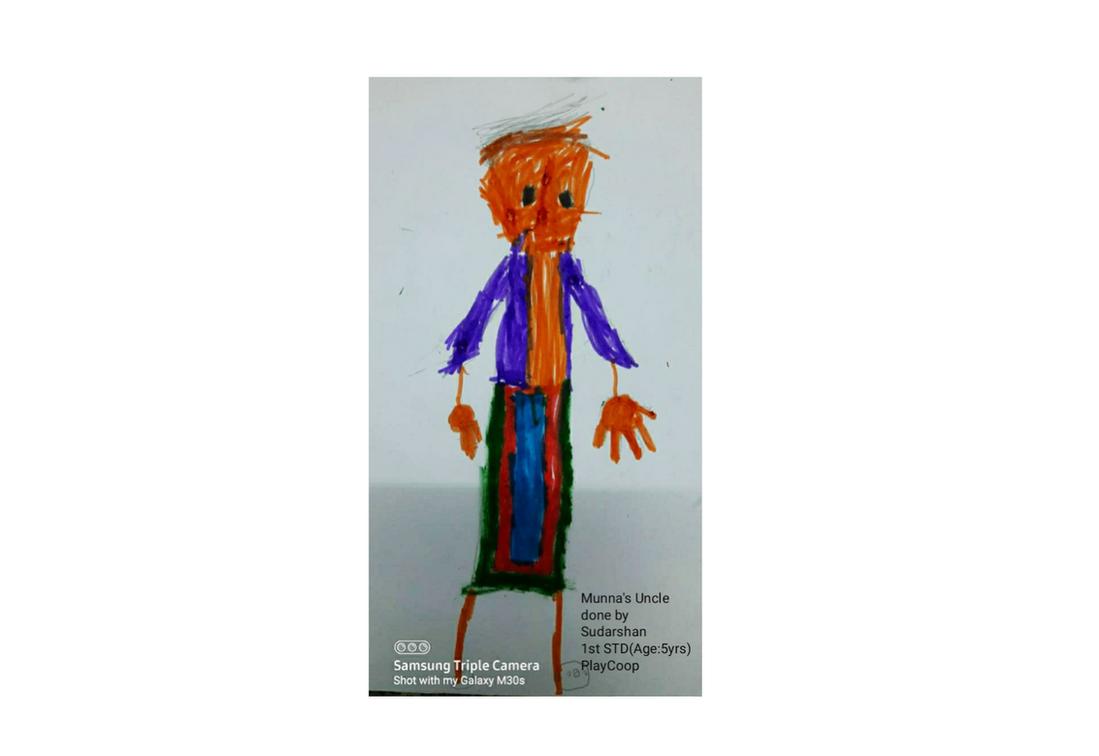 Sudarshan (aged 5) from Chennai, India