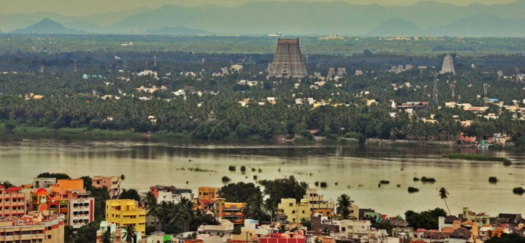 Srirangam temple, Tamil Nadu