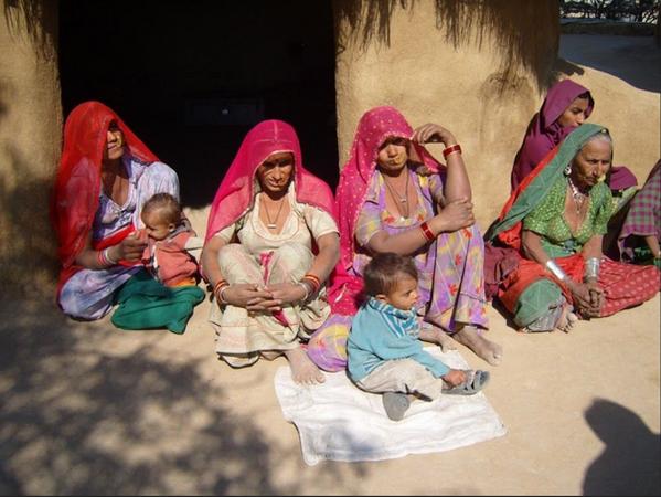 Women Protectors of trees