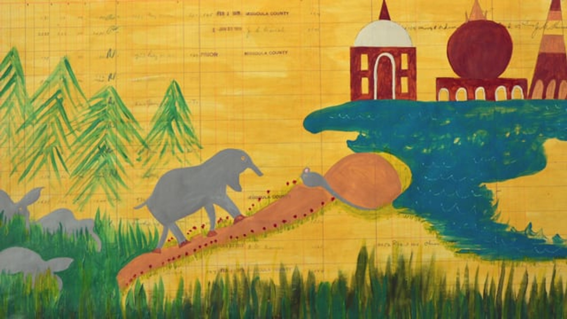 How did you imagine the elephant from this story?