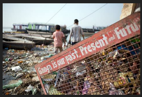 Pollution in the Ganges (4)