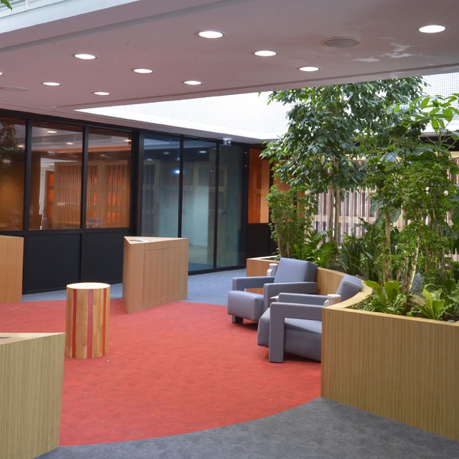 Hall CCI - vue d'ambiance intérieure.