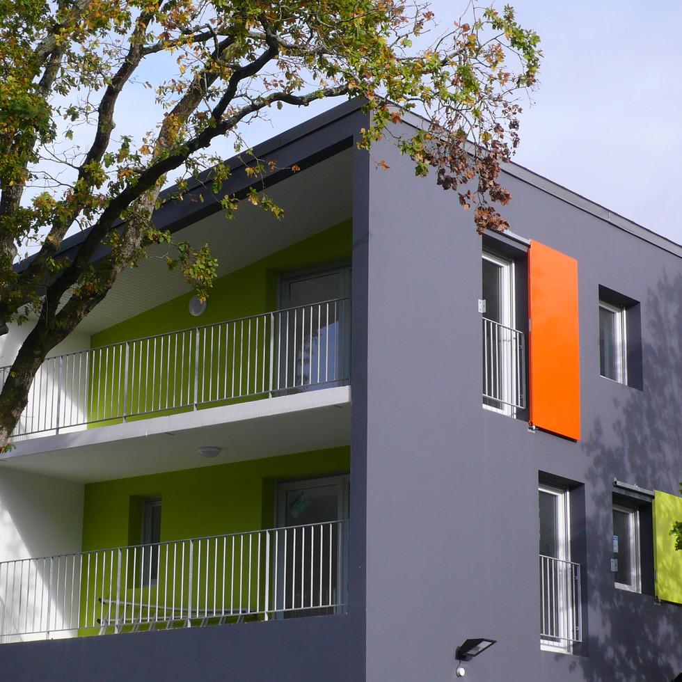 8 logements - Chapelle des marais.