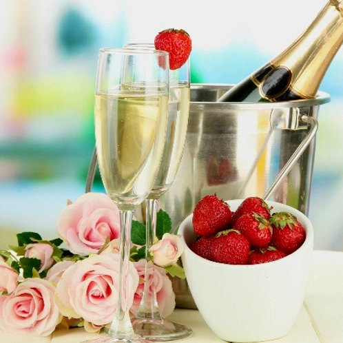 Bubbly and Chocolates Romance Package