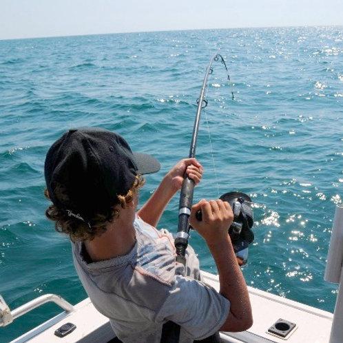 Half Day Fishing Trip (1-2 people)
