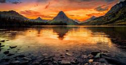 two-medicine-lake-glacier-national-park