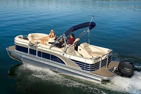Pontoon Boat Rental Full day 8 hours (Private)