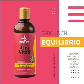 Manthoe Shampoo Aloe Vera