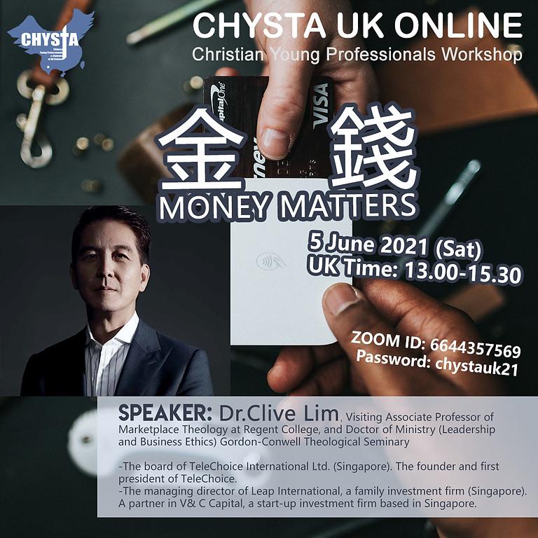 金錢 Money Matters - Christian Workshop