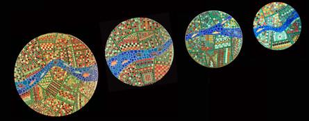 The four circles