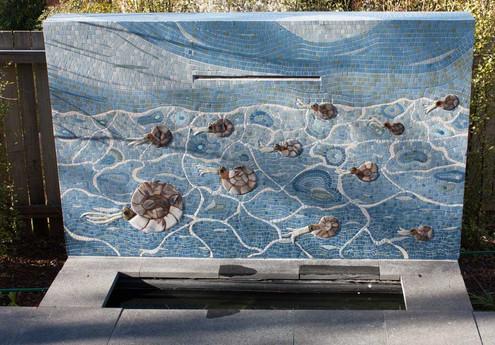 Ammonite Water Feature
