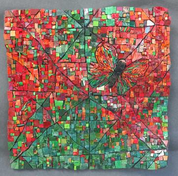 Fold/Unfold: Copper Butterfly