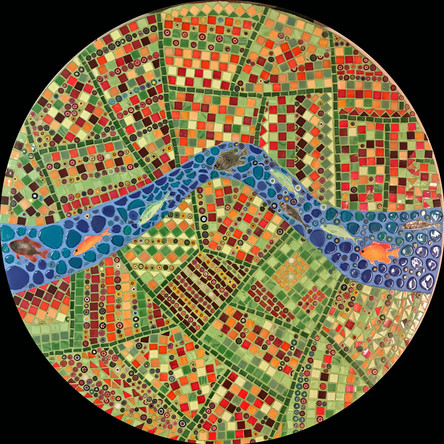 Circle A.  80 cm